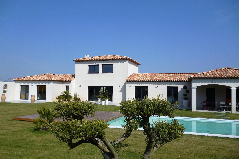 Construction maisons contemporaines, villas, Provence, PACA