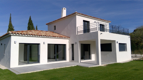 Construction maisons contemporaines, villas, Provence, PACA